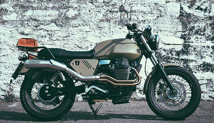 2016 Moto Guzzi Garage V7II Legend Kit