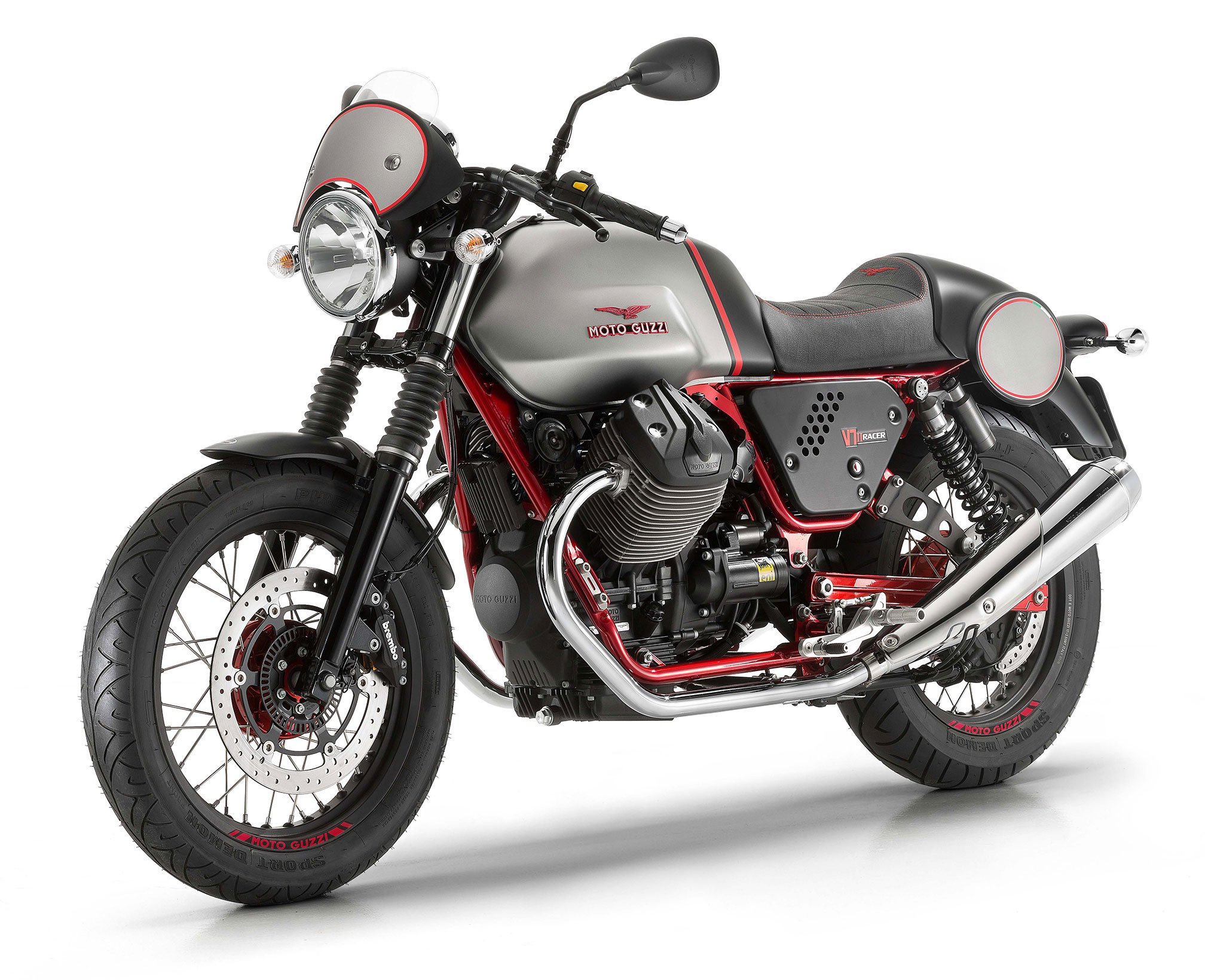 2016 moto guzzi v7 ii racer abs review. Black Bedroom Furniture Sets. Home Design Ideas