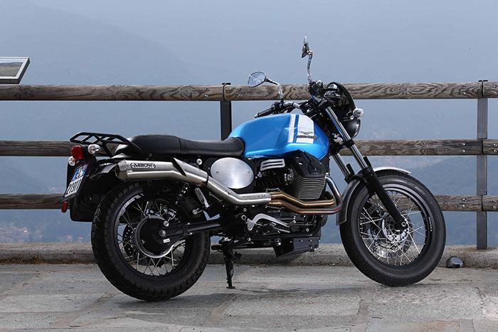 2016 Moto Guzzi V7 II Scrambler ABS