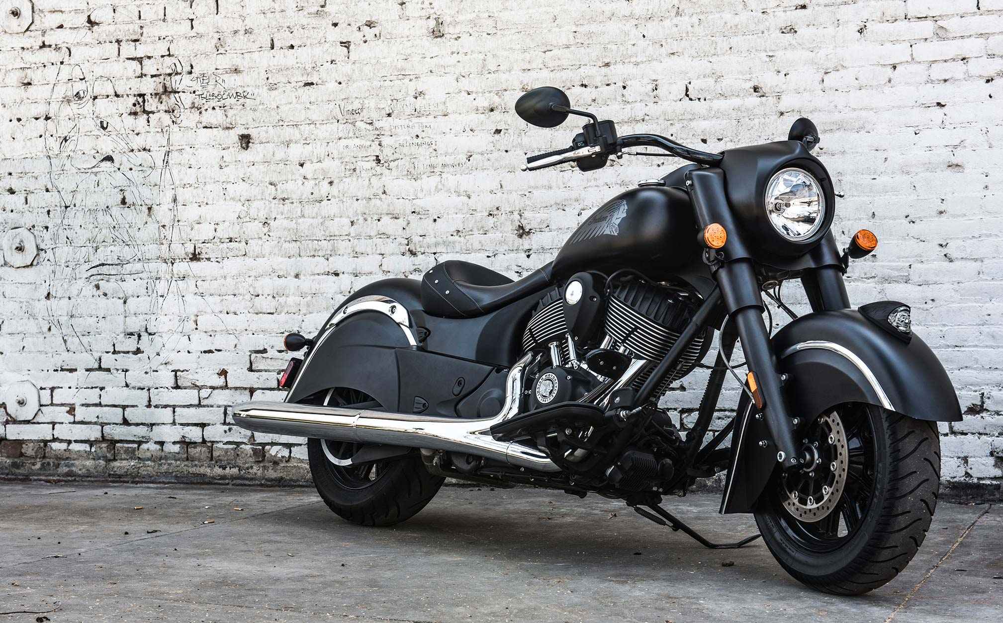 2018 Indian Motorcycle Chieftain Dark Horse Abs Thunder