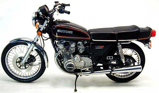 The Suzuki GS550 seems to be quite a classic motorcycle in the business.