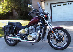 1986 Honda Shadow VT700C