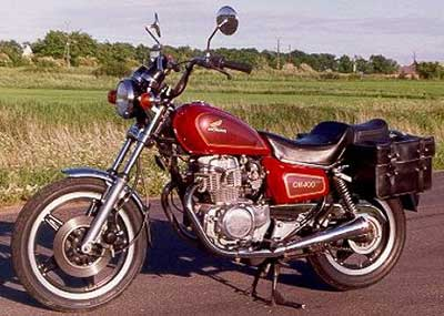 Reference photo of a 1980 CM400T