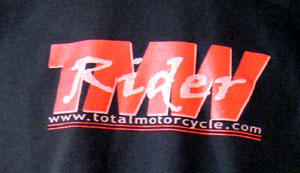 Chocolate Brown Total Motorcycle T-shirts