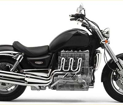 Displacement - Triumph Rocket III 2294cc In-Line Triple Engine