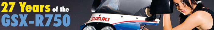The legendary Suzuki GSX-R750 on Total Motorcycle