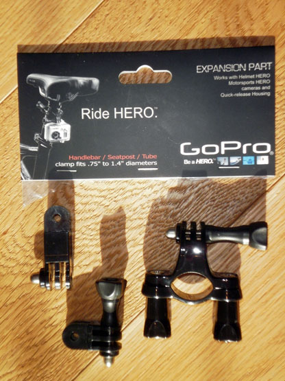 GoPro Ride Hero Handlebar Seatpost Mount
