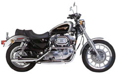 TRADITIONAL Harley-XL-1200S-1996