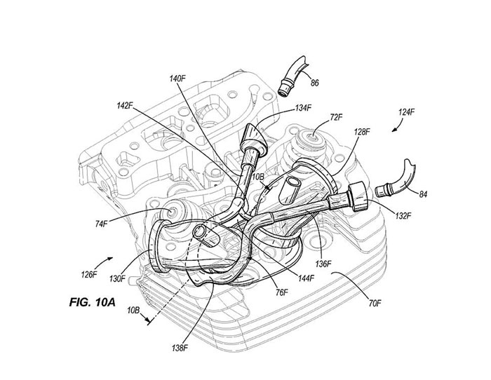 2011 Harley-Davidson Water Cooled Engine US Patent