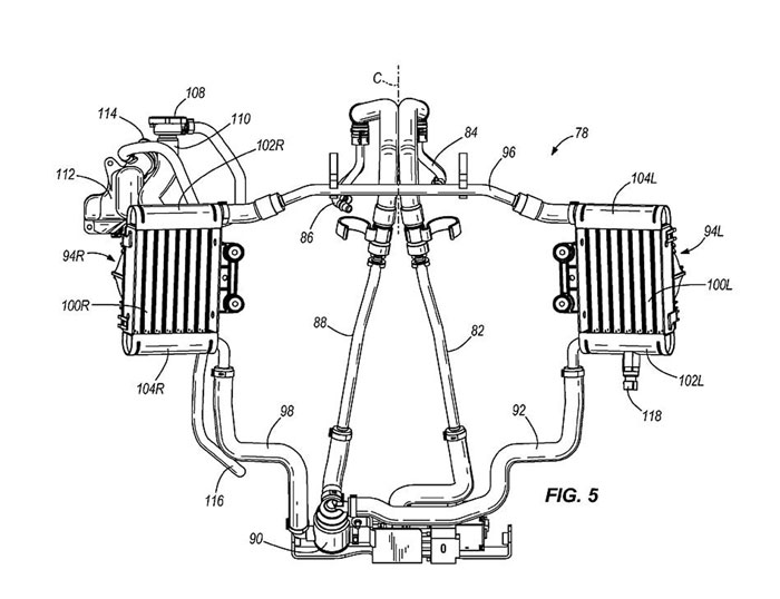 Harley Davidson Water Cooled Engine Patent