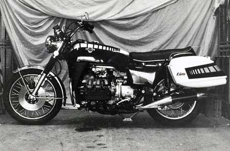 1972 Honda Goldwing prototype M1