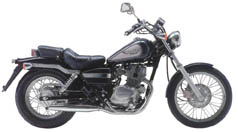 CRUISER Honda-CMX250-Rebel-1998
