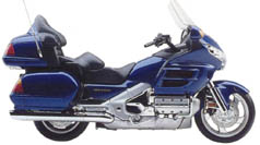 LUXURY TOURING Honda-GL1800-2001