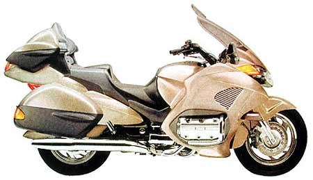Honda GL1800 Gold Wing Hi-Tech
