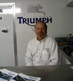 Triumph Chris Ellis