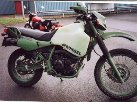 Kawasaki KLR650 Military Edition