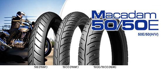 Michelin Macadam 50 and 50E