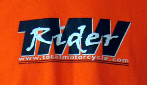 Orange Total Motorcycle T-shirts