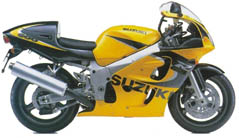 CROTCH ROCKET Suzuki-GSX-R600-1999