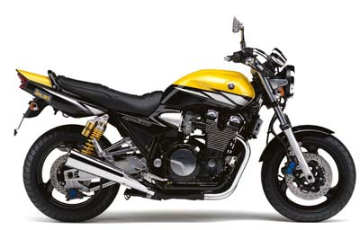 Yamaha XJR1300 Yellow