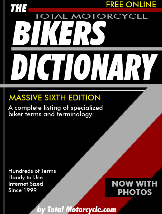 The Motorcycle Bikers Dictionary Index