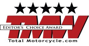 TMW Editor's Choice Award 5 Stars Total Motorcycle.com