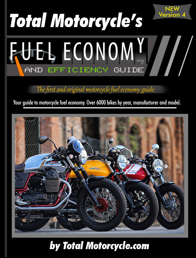 Total Motorcycle Fuel Economy Guide in MPG and L/100km