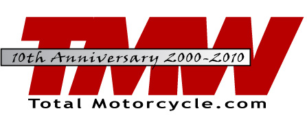 Total Motorcycle 10th Anniversary Logo 2000-2010