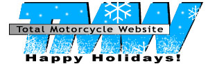 Total Motorcycle Happy Holidays Logo