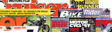 New Total Motorcycle Magazine Rack