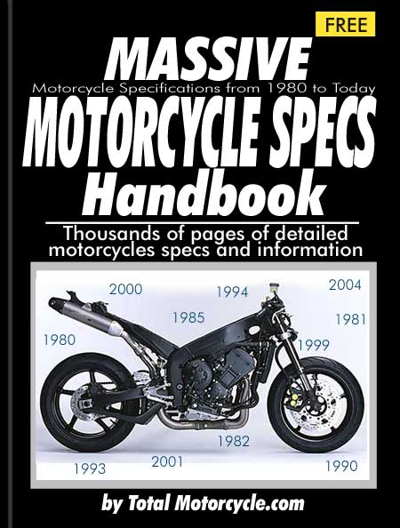 Motorcycle Specs Handbook - 1980 to 2005