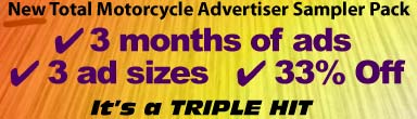 Total Motorcycle Advertising Special