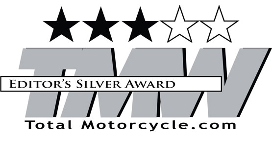 Total Motorcycle Editor's Silver Award