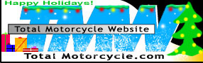 Total Motorcycle Happy Holidays Logo 2