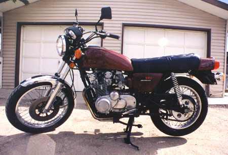 UJM - Universal Japanese Motorcycle (my old 1978 Suzuki GS550)