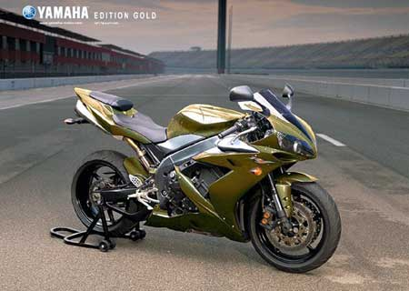 2009 Yamaha R1 Gold Edition