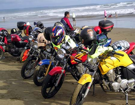 Honda Tiger 2000 Rally Indonesia