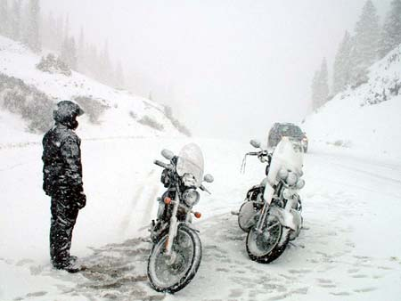 Photo & Bike Credit: mswarrior - Riders In Snow