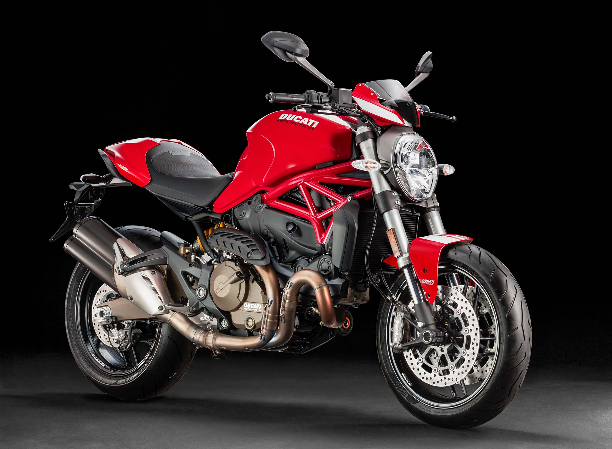 Ducati Monster 821 >> 2017 Ducati Monster 821 Stripe Review