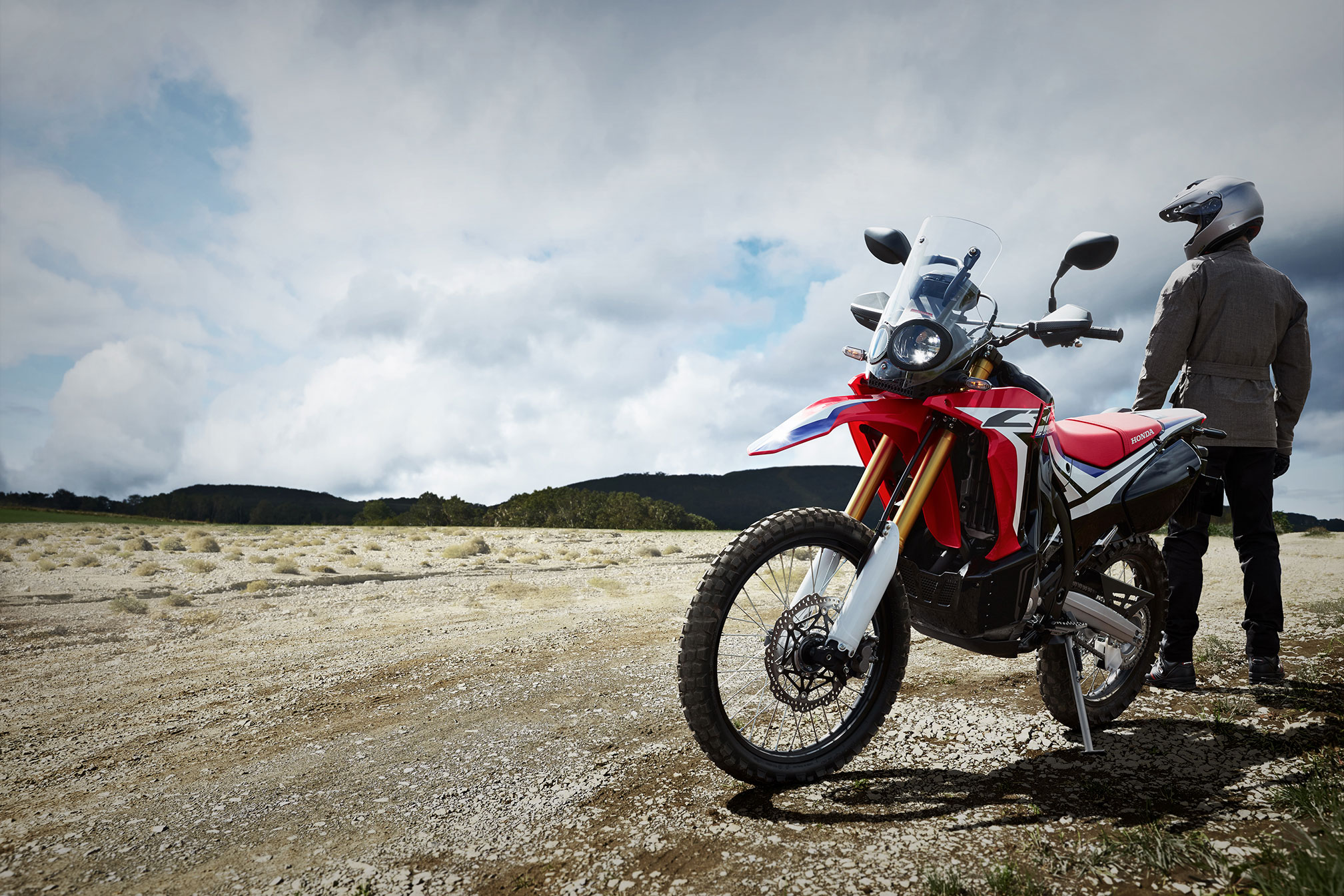2017 Honda Crf250l Rally Abs Review