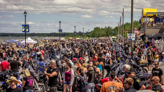 Wasaga Beach Motorcycle Rally