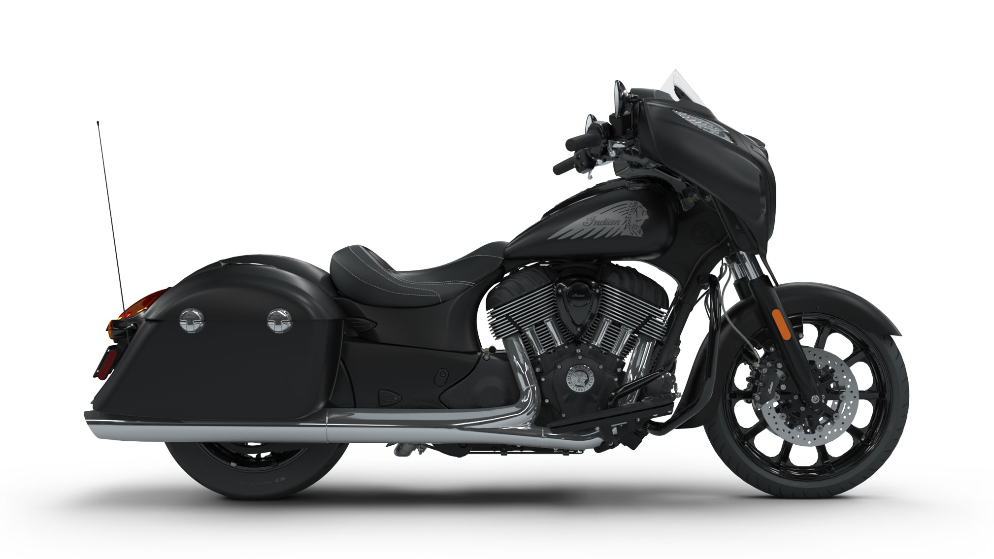 2018 indian chieftain dark horse review total motorcycle. Black Bedroom Furniture Sets. Home Design Ideas