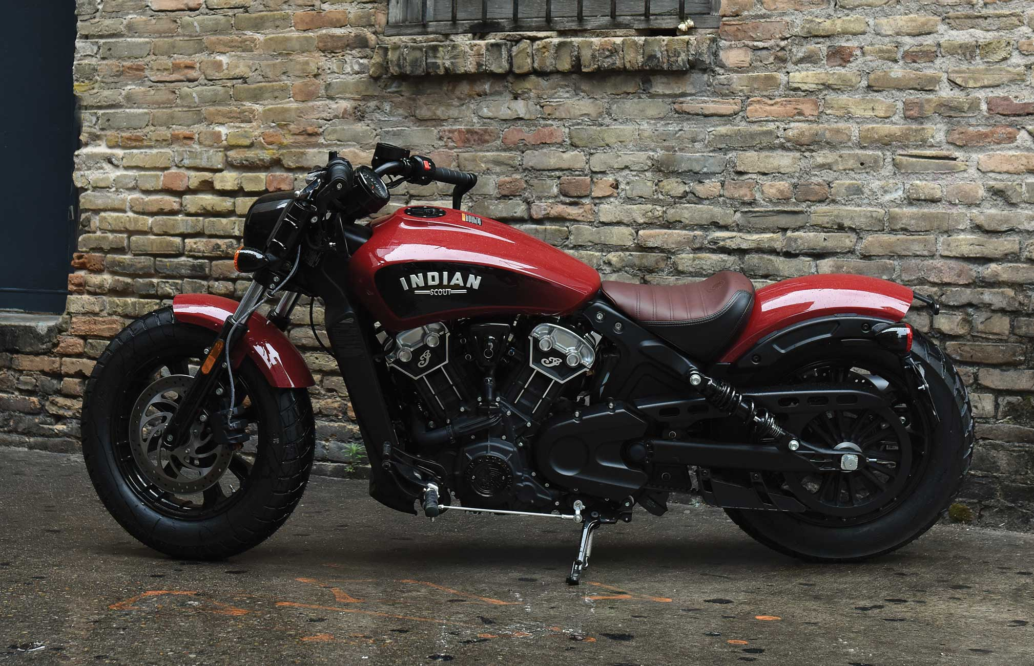 2018 indian scout bobber review • totalmotorcycle