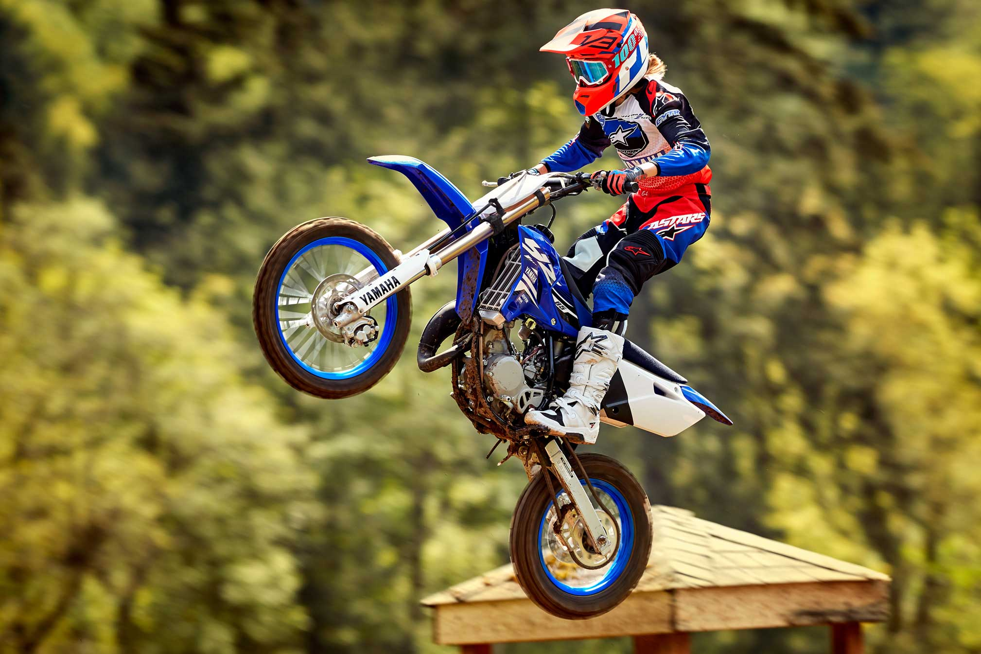 2018 yamaha yz85 review totalmotorcycle. Black Bedroom Furniture Sets. Home Design Ideas