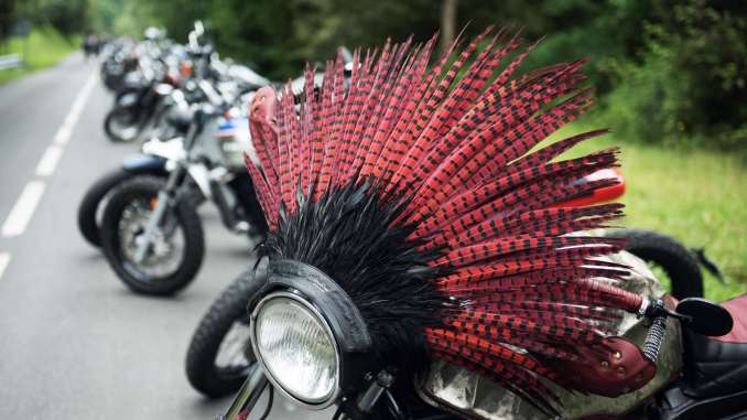 Punk's Peak: where bikers dare