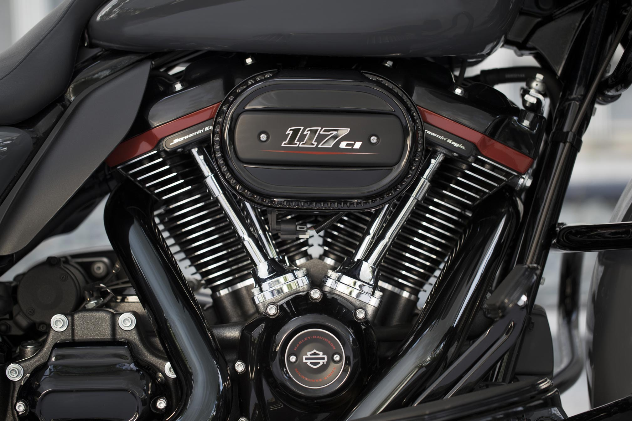 2018 Harley Davidson Milwaukee Eight 117 Engine Review