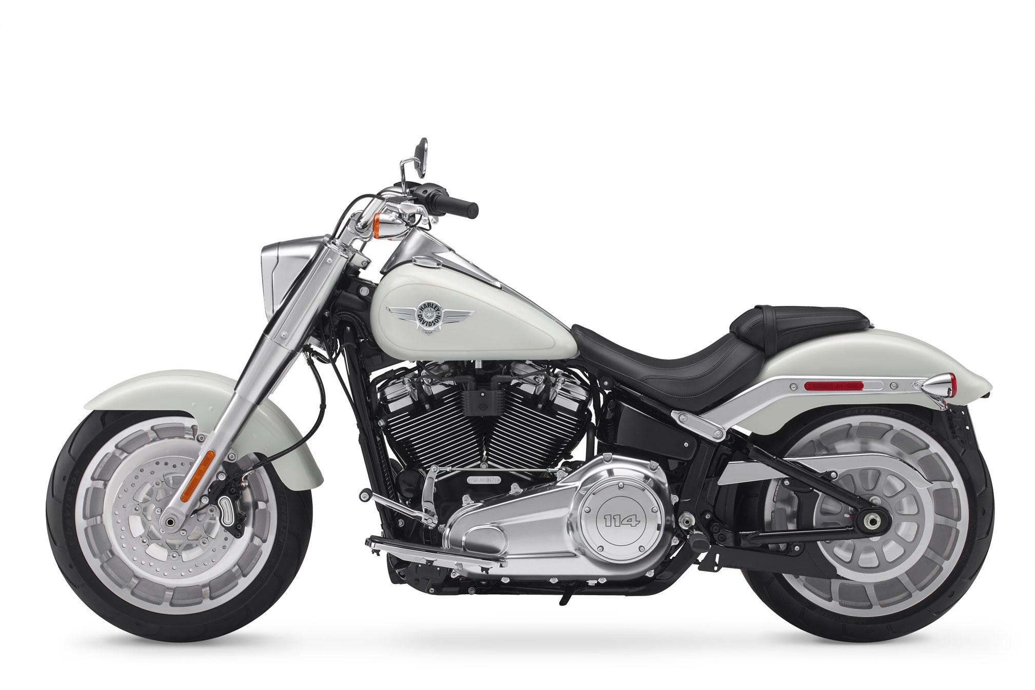 2018 harley davidson fat boy 114 review total motorcycle. Black Bedroom Furniture Sets. Home Design Ideas