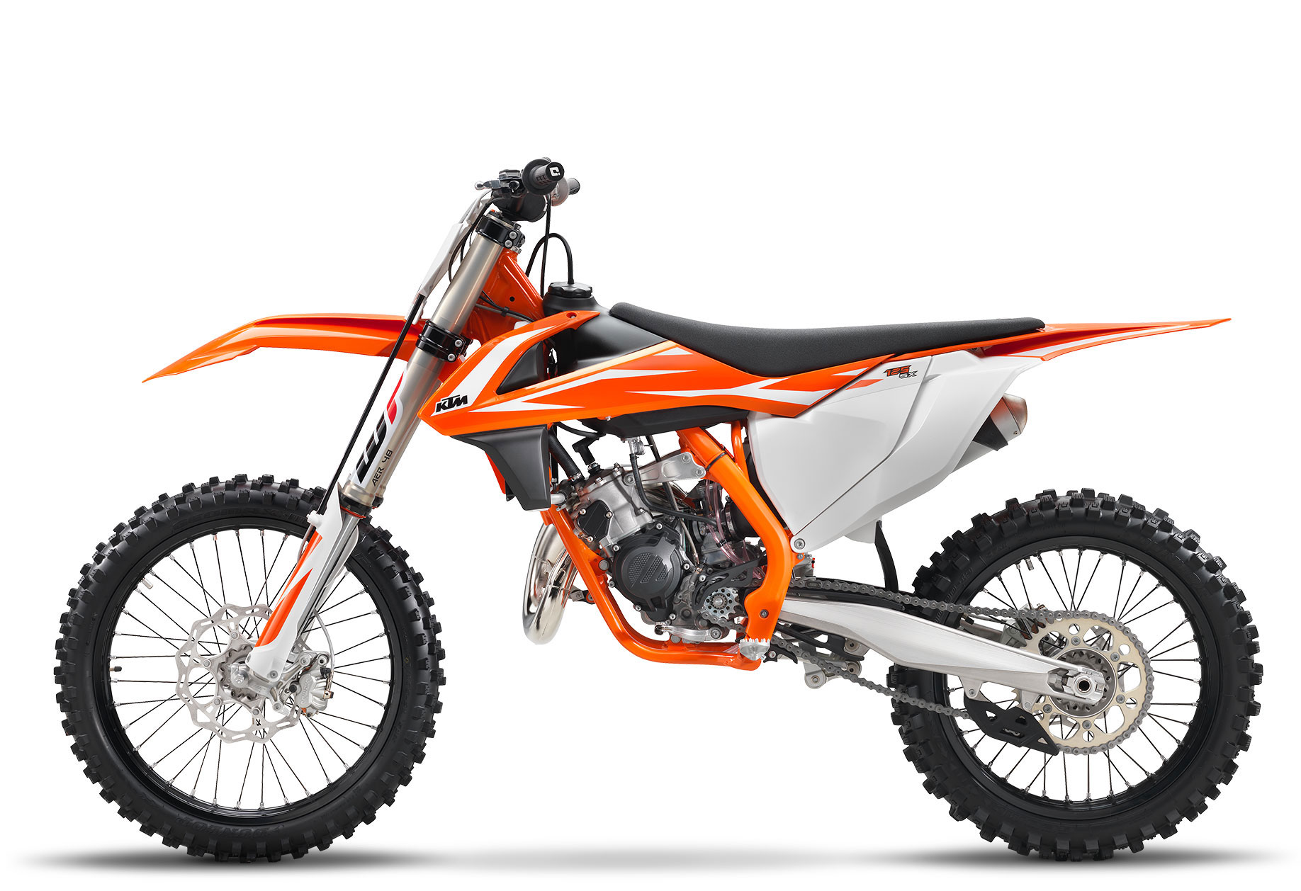 2018 ktm 125 sx review total motorcycle. Black Bedroom Furniture Sets. Home Design Ideas