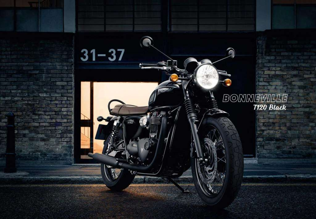 2018 Triumph Bonneville T120 Black Review Total Motorcycle