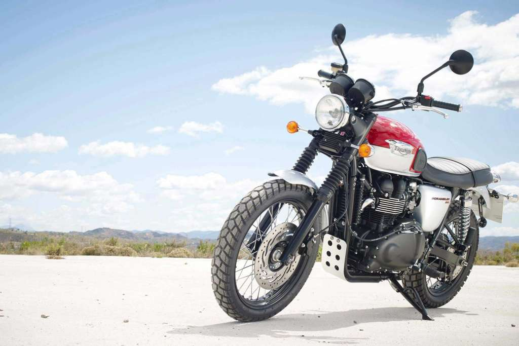 2018 Triumph Scrambler Review Totalmotorcycle